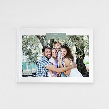 Panorama Fotobücher A5 Querformat - Schlichtes Design - 0