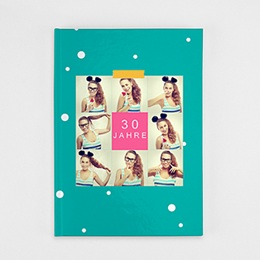 Fotobuch A4 Portrait - Geburtstag Flashy - 0