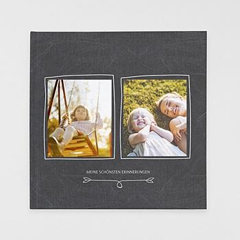 Fotobücher Quadratisch 30 x 30 cm - Nostalgie Kreide - 0