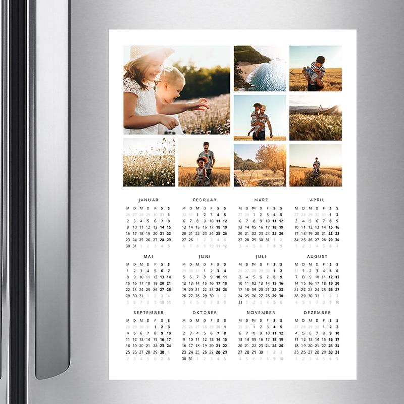 Kalender Jahresplaner Familienfotos pas cher