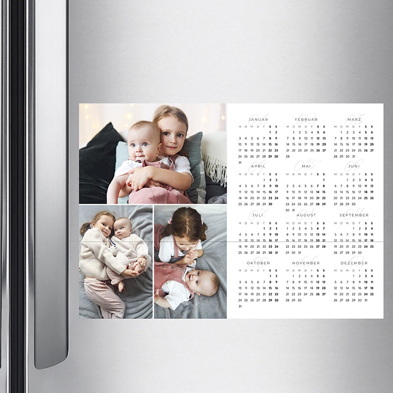 Kalender Jahresplaner 2020 Farbpalette pas cher