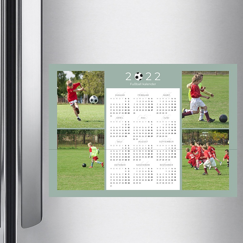 Kalender Jahresplaner Football pas cher