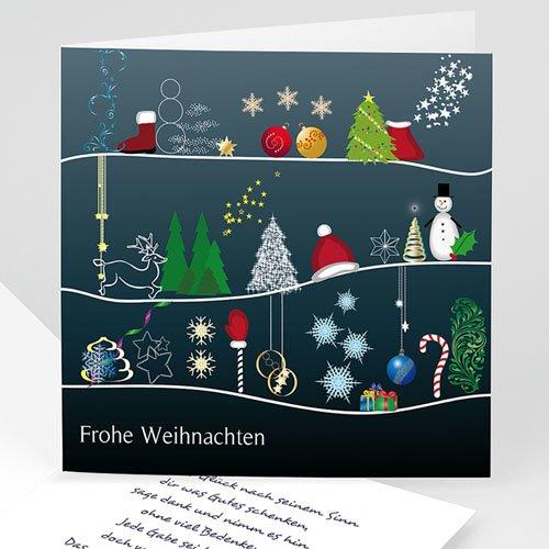 Weihnachtskarten - Erlesene Grüsse 3640