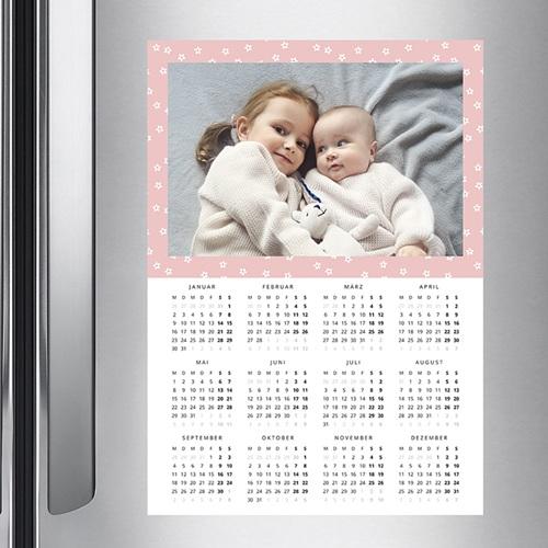 Kalender Jahresplaner Blumen pas cher