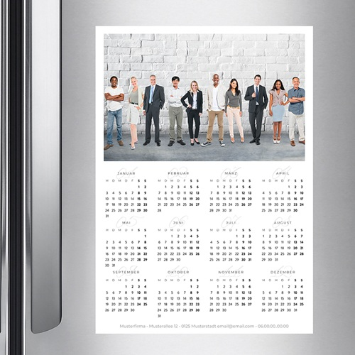Werbekalender  - Pro Hochformat 36445 preview