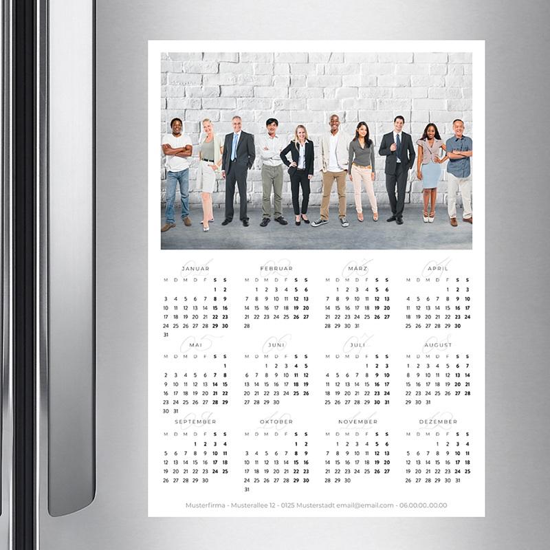 Kalender fur Firmen Pro Hochformat pas cher