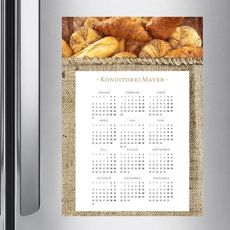 Kalender fur Firmen Jahresübersicht pas cher