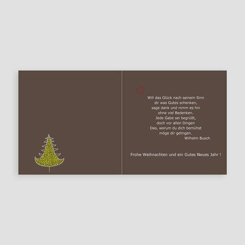 Weihnachtskarten - Tannen 3645 test