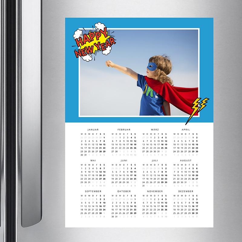 Kalender Jahresplaner Superjahr pas cher