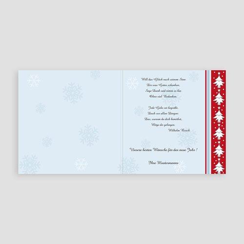 Weihnachtskarten - Tannenbaumfriese 3649 preview