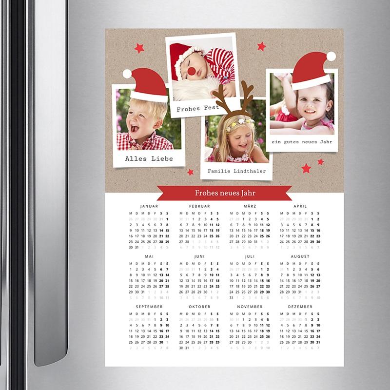 Jahresplaner Zauberhafte Weihnachten pas cher
