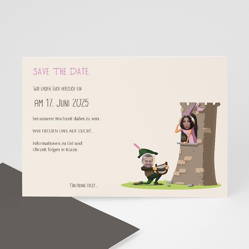 Save The Date Karten Hochzeit Mittelalter
