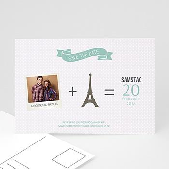 Save The Date  - Paris Eifelturm - 0