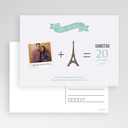 Save The Date  - Paris Eifelturm 36565 test