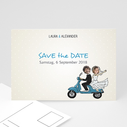 Save The Date  - Vespa 36569