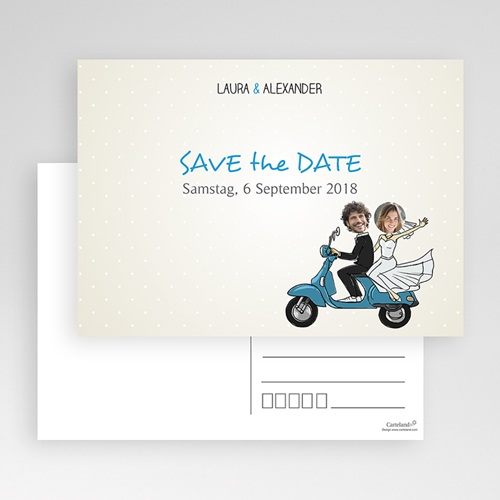 Save The Date  - Vespa 36571 preview