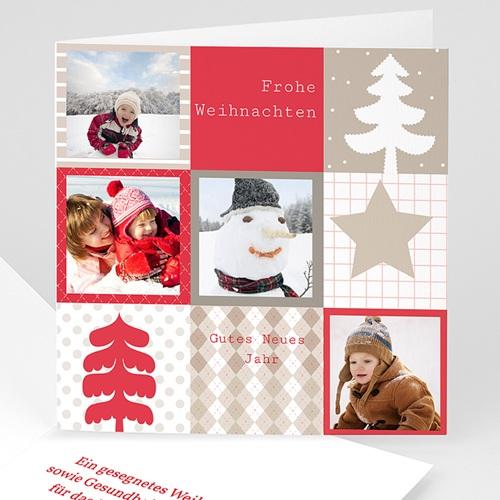 Weihnachtskarten Weihnachtlicher Glanz