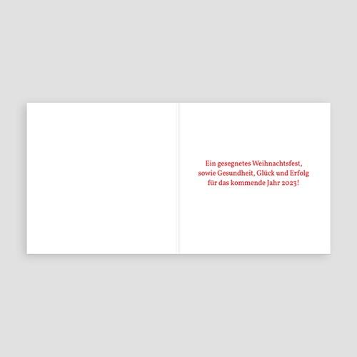 Weihnachtskarten Weihnachtlicher Glanz pas cher