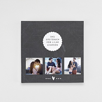 Fotobücher Quadratisch 20 x 20 cm - Tafelkreide - 0