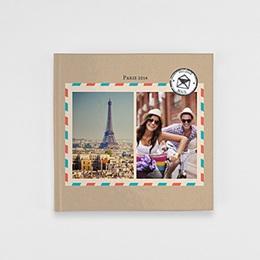 Fotobuch Quadratisch 20 x 20 cm - Reisetagebuch - 0