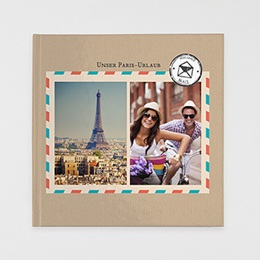 Fotobuch Quadratisch 30 x 30 cm Reisejournal
