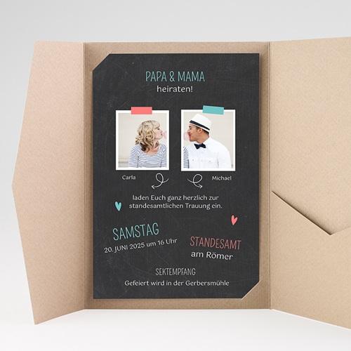 Hochzeitskarten Querformat - Familie 36884 preview
