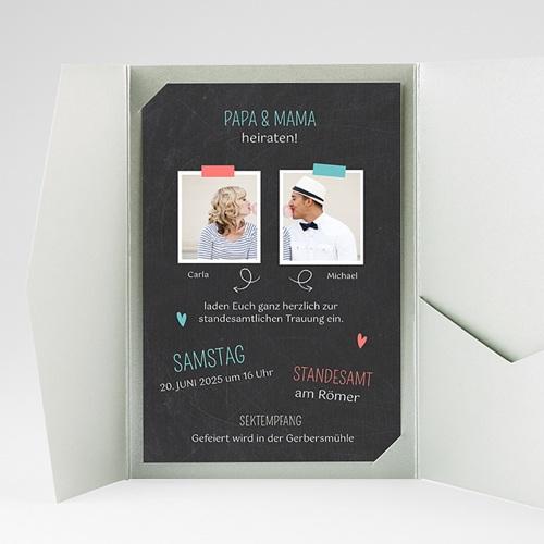 Hochzeitskarten Querformat - Familie 36886 preview