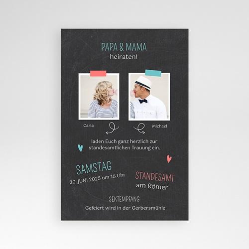 Hochzeitskarten Querformat - Familie 36887 preview