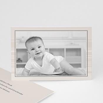 Dankeskarten Geburt Jungen - Babykarte Luca - 1
