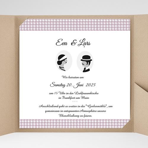 Hochzeitskarten Quadratisch - Lady 36974 preview