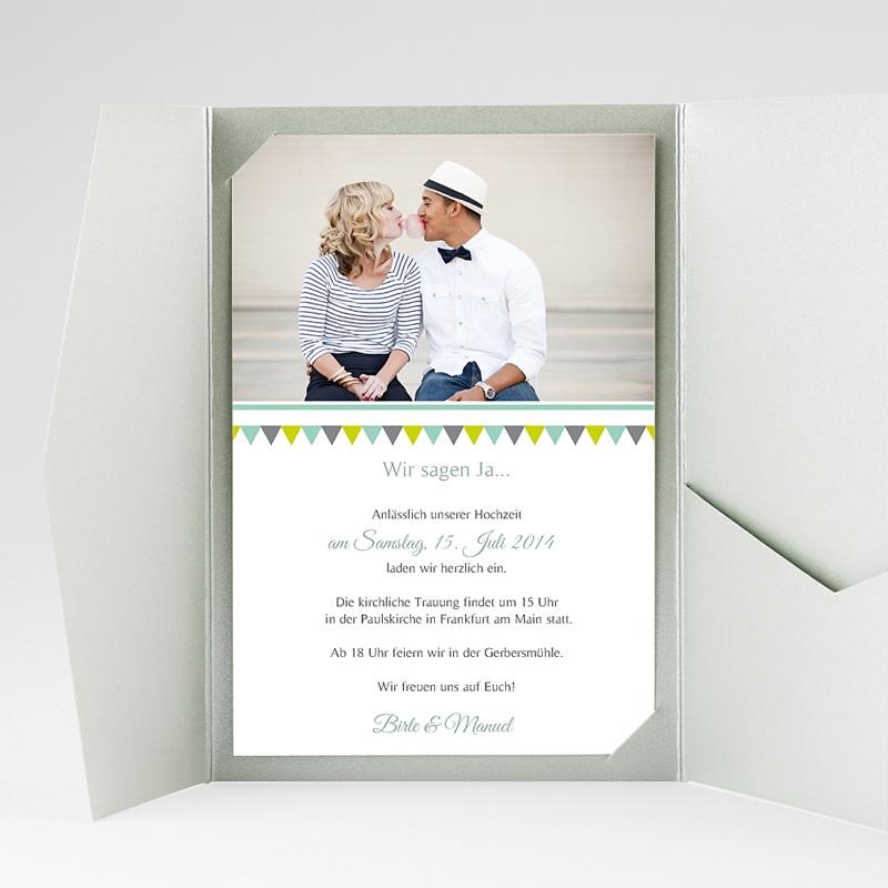 Hochzeitskarten Querformat Charmant gratuit