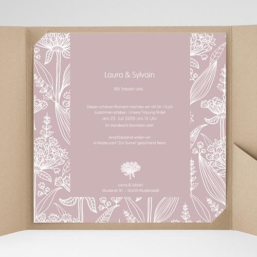 Hochzeitskarten Quadratisch - Paola 37244 thumb