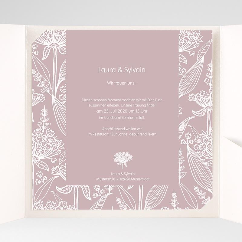 Hochzeitskarten Quadratisch - Paola 37245 thumb