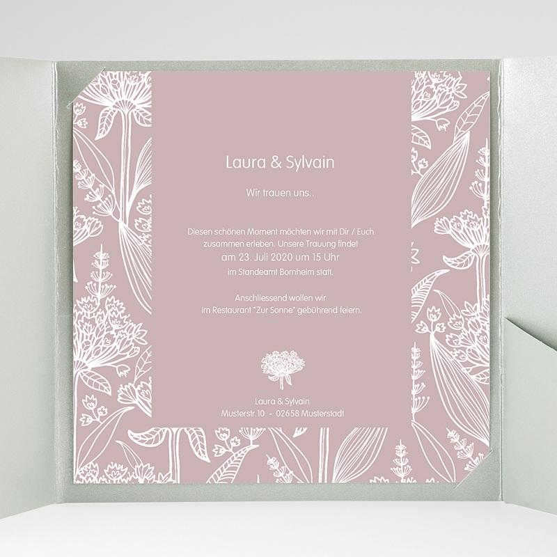Hochzeitskarten Quadratisch - Paola 37246 thumb