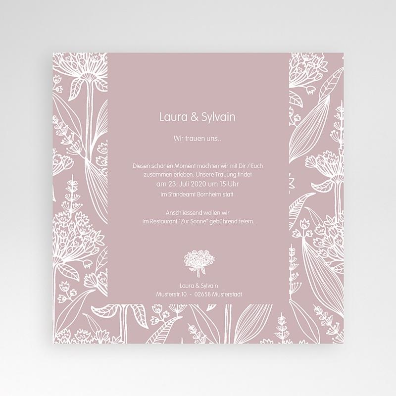 Hochzeitskarten Quadratisch - Paola 37247 thumb