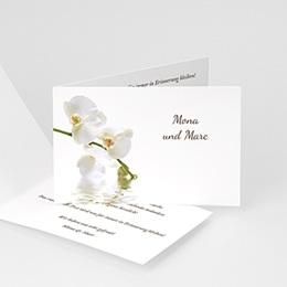 Danksagungskarten Hochzeit  Zarte Blumen