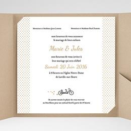 Karten Hochzeit Tandem