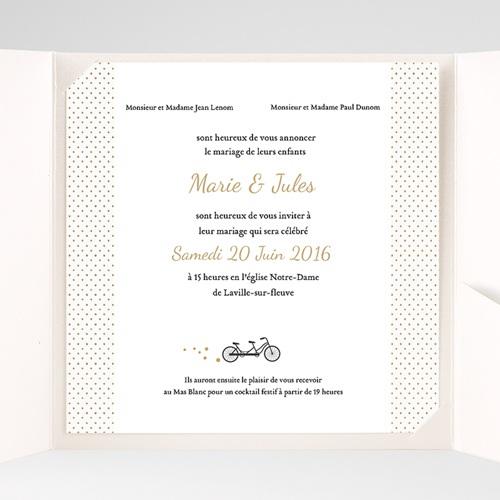 Hochzeitskarten Quadratisch - Tandem 37335 preview