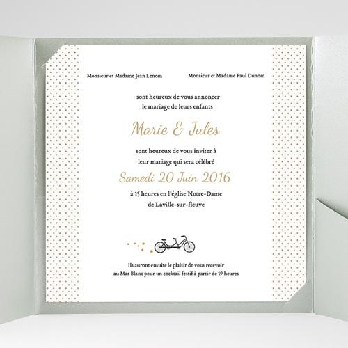 Hochzeitskarten Quadratisch - Tandem 37336 preview
