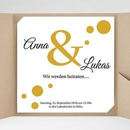 Karten Hochzeit Konfetti