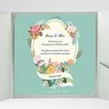 Hochzeitskarten Quadratisch - Vintage Romantik 37360 test