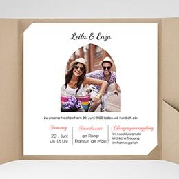 Hochzeitskarten Quadratisch - 1001 Nacht - 0