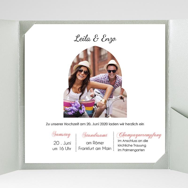 Hochzeitskarten Quadratisch 1001 Nacht gratuit