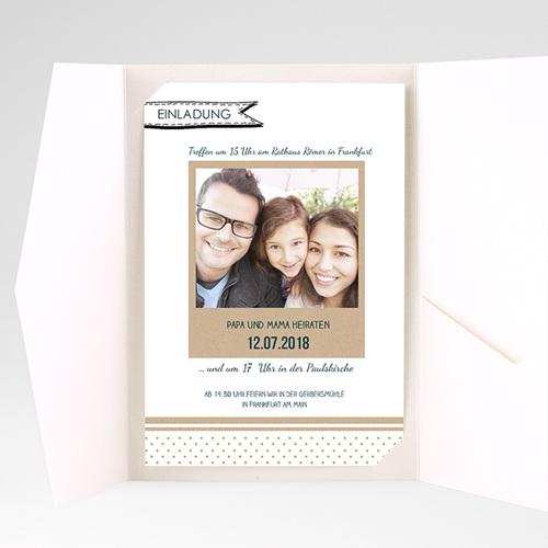 Hochzeitskarten Querformat - Ins Detail 37593 test