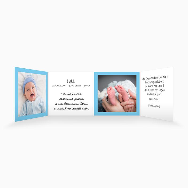 Geburtskarten für Jungen - Henry 3761 thumb