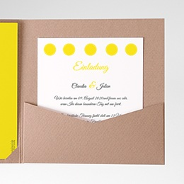 Einlegekarte Inspiration Zitrone