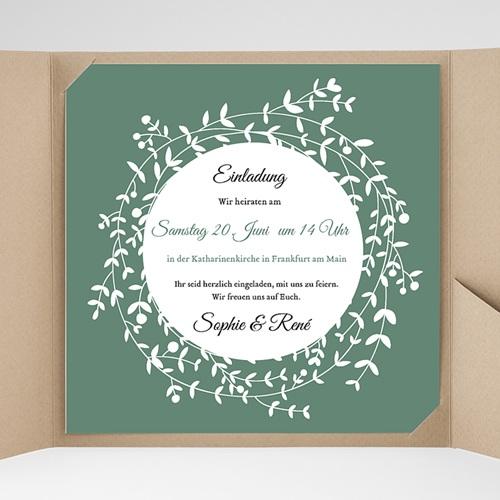 Hochzeitskarten Quadratisch - Diadem 37724 preview