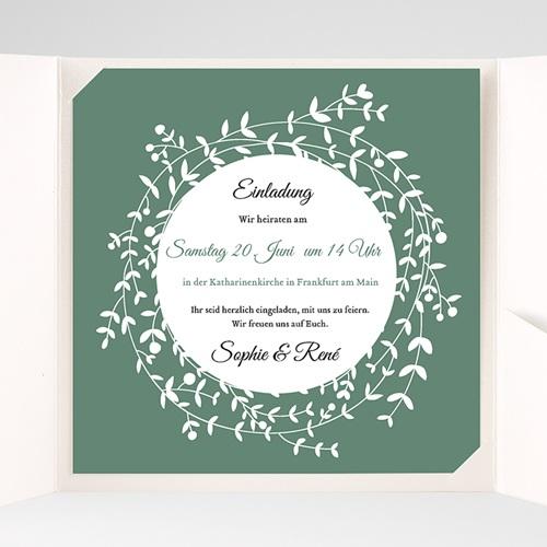 Hochzeitskarten Quadratisch - Diadem 37725 preview