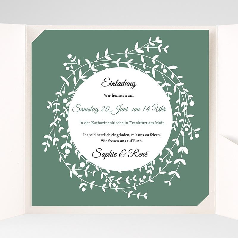 Hochzeitskarten Quadratisch Diadem pas cher