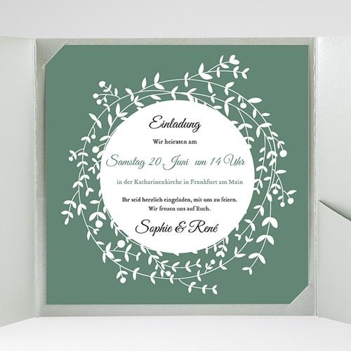 Hochzeitskarten Quadratisch Diadem gratuit